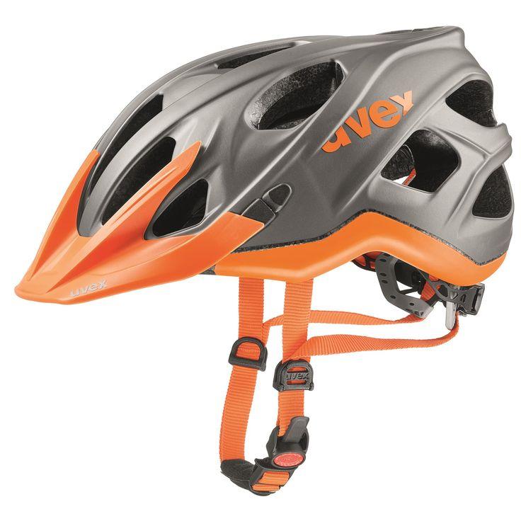 Doorout Angebote Uvex stivo cc Fahrradhelm grey-neon orange Gr. 52-57cm: Category: Outdoorsports > Helme und Brillen Item…%#Quickberater%