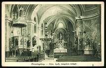 Dunabogdány Római katolikus templom belseje