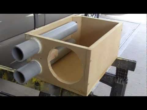 CONSTRUCTION SUBWOOFER BOX BY KONSTANDOPOULOS PROJECT....wmv - YouTube