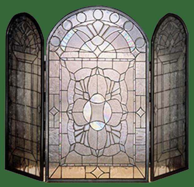 leaded glass fireplace screens. Leaded Glass and Bevels Fire Screen 80 best Stained Screens images on Pinterest  Fireplace
