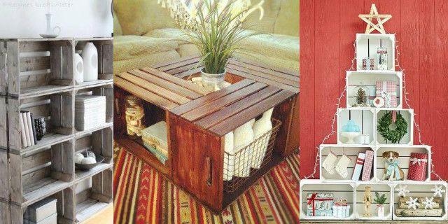 Buttare le cassette di legno? Non ci pensate nemmeno! Con questi oggetti di recupero potete arredare con stile, gusto e fantasia la vostra casa, il giardino e molto altro. Ecco a voi alcune idee davvero originali.