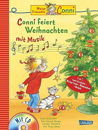Weihnachten 2019 Musik.Conni Musicalbuch Conni Feiert Weihnachten Mit Musik Buch Mit Cd