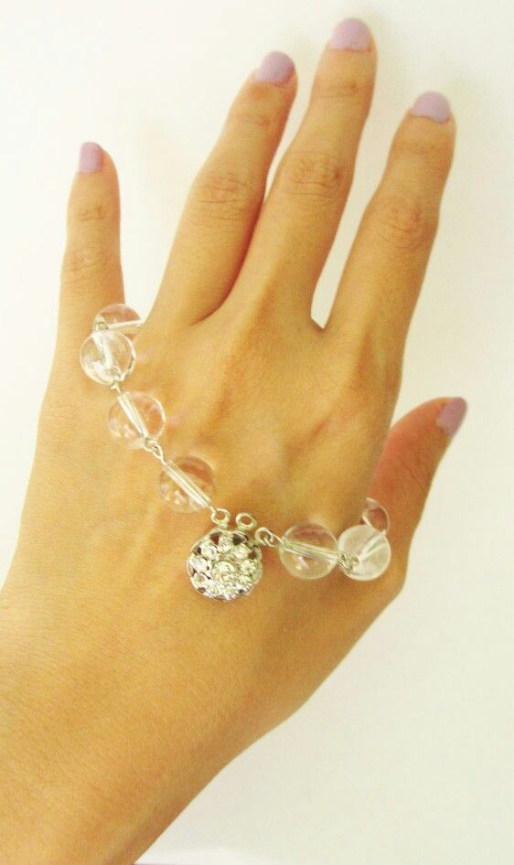 Glass Bead // Gelang Handmade // Diy Bracelet
