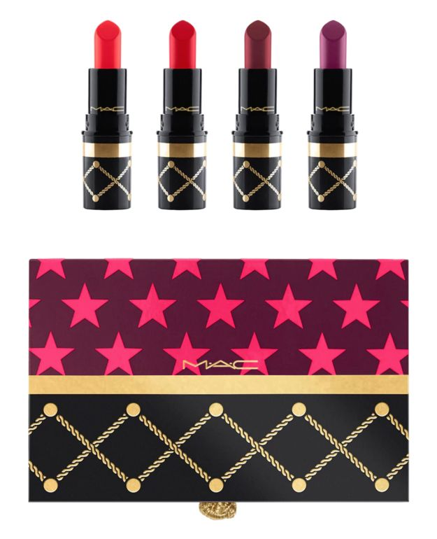MAC's Nutcracker Sweet Red Mini Lipstick Kit will introduce Lady Danger, Diva, Rebel, and MAC Red into your regular lipstick-purse rotation. | 36 Amazing New Beauty Products You Really Need To Try