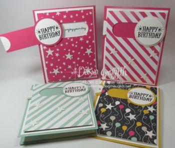 Slider Birthday card video
