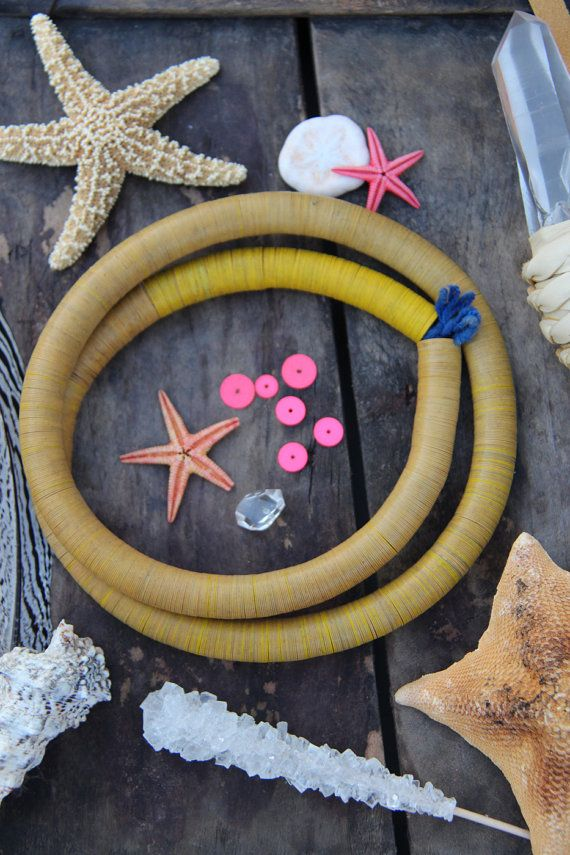 17 best images about vinyl record bead bliss on pinterest for Mustard colored costume jewelry