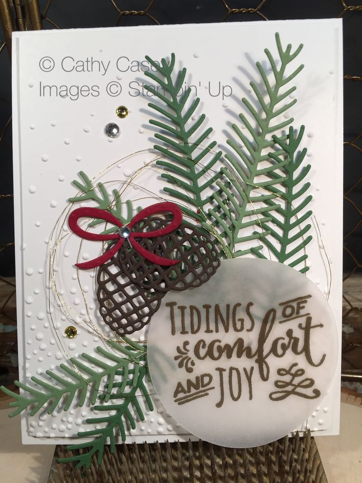 249 best Stampin Up Autumn Winter 2017 images on Pinterest ...