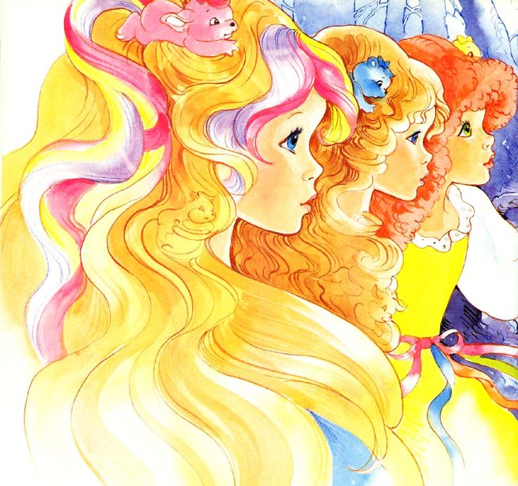 Lady Lovely Locks ♥ used to love this show!