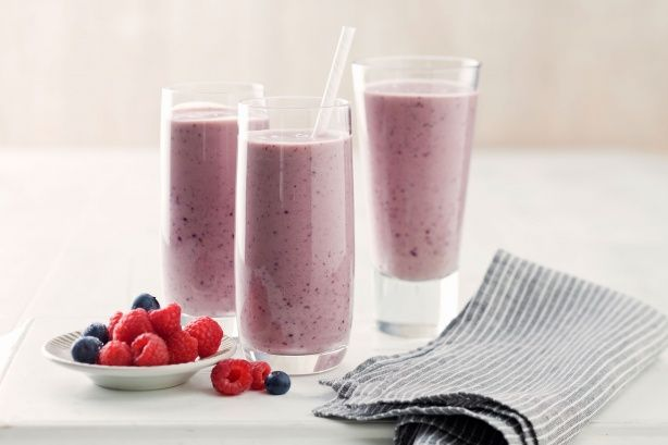 Add avocado to your everyday berry smoothie to give it a richer, creamier consistency. Perfect for breakfast on the go!  Brought to you by the Taste team and Australian Avocados.