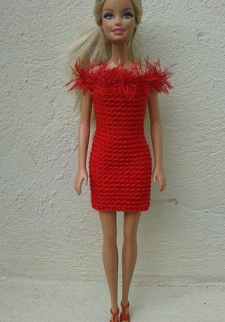 Crochet Patterns Galore - Barbie in Red Free Pattern