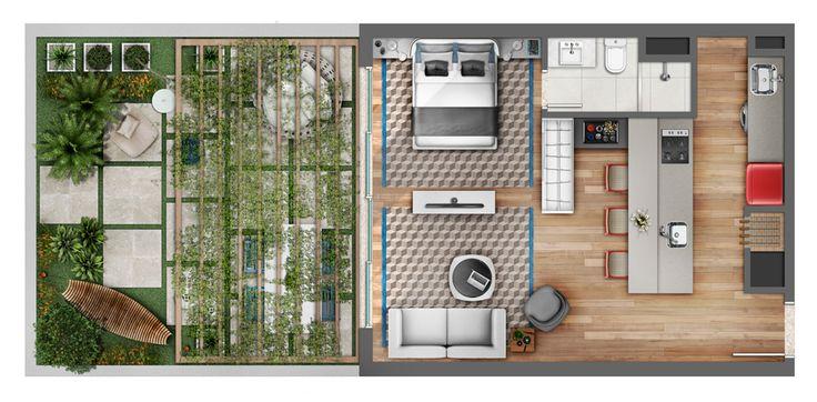 Neorama - Floor Plan - Smart! e Maiojama/Arts