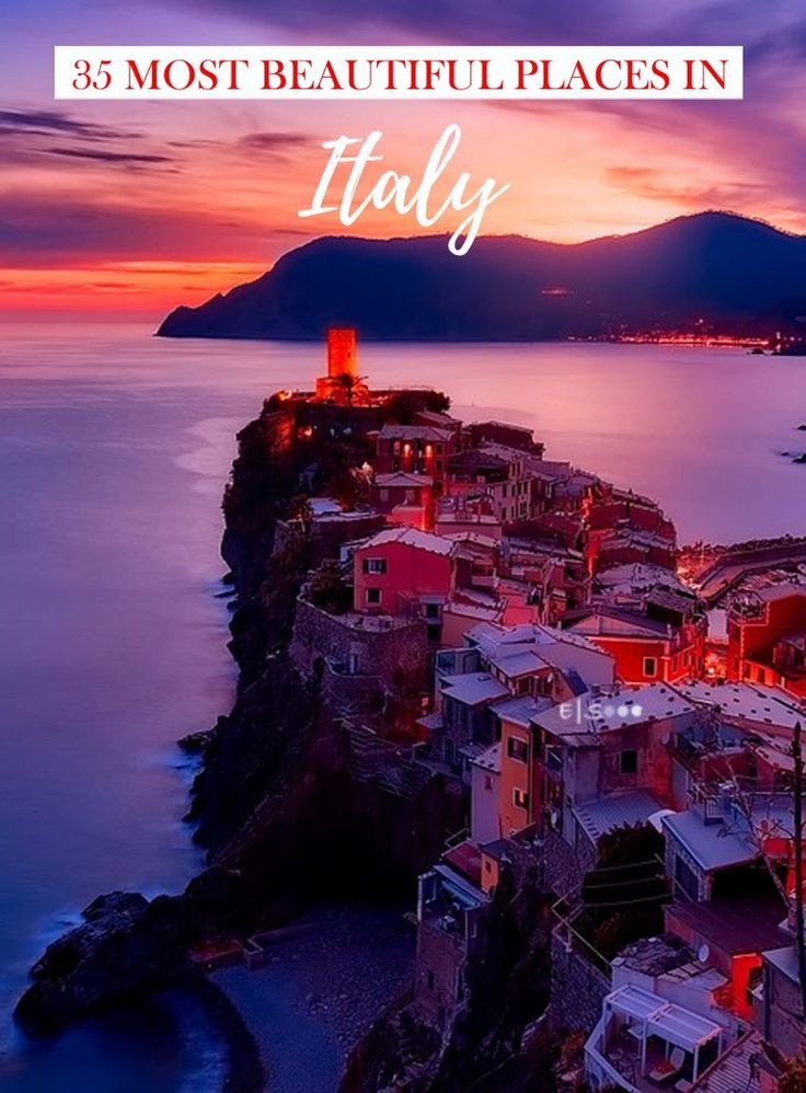 35 Most Beautiful Places in Italy