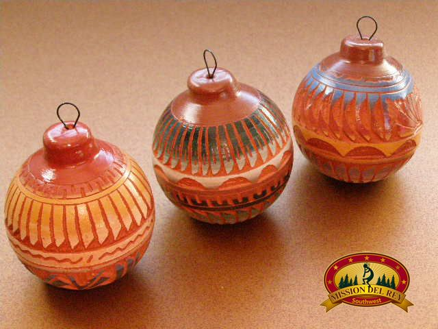 Displaying Native American Christmas Ornaments During The Holidays | Mission Del Rey Southwest