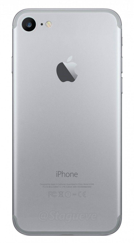 nice iPhone 7 : Nuevos esquemas muestran un reposicionado de las antenas y una cámara trasera más grande