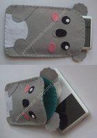 Koala Felt Case by AKhandmade