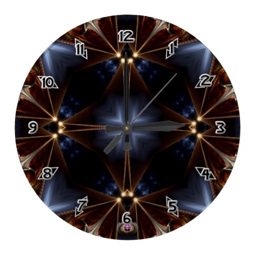 VOF Star Fire Wallclocks $28.10 - Click Here http://xzendor7.com/xzendor7-wall+clocks.php