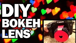 DIY Bokeh Lens - Man Vs. Pin #41 - YouTube