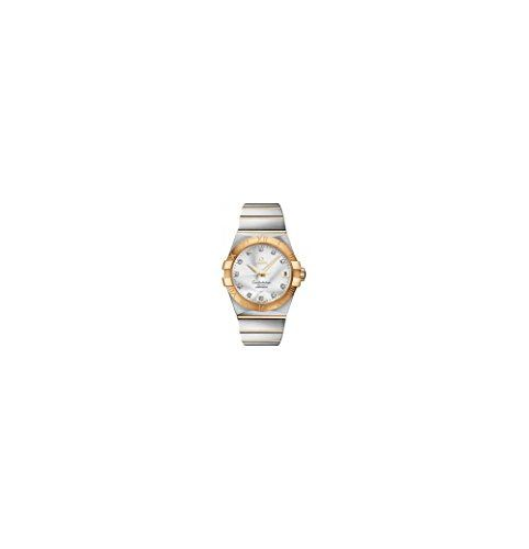 Omega Constellation Silver Diamond Dial Mens Watch 12320382152002 -- You can get...