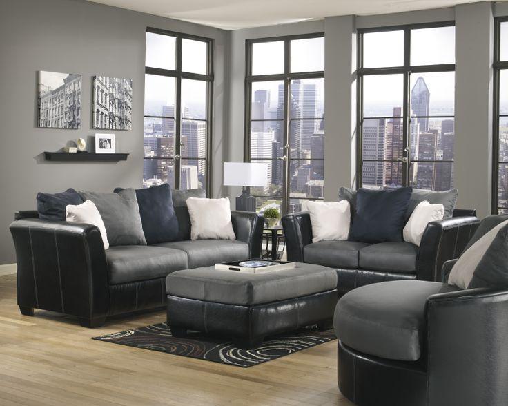 Masoli   Cobblestone Living Room Set By Ashley Furniture #