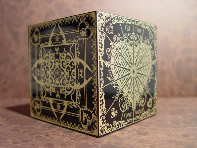 A japanese puzzle box which can only be opened if you open it in a special way.