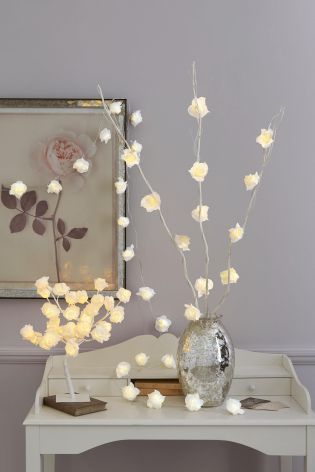 Buy White Rose Twigs from the Next UK online shop