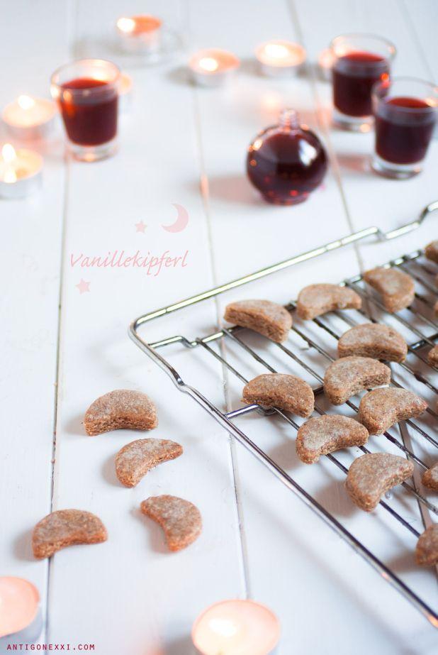 Petits croissants de lune à la vanille (vegan) - TEST C'VEGETAL : je suis conquise !!! Ils sont simples à préparer, croquants à souhait, jolis comme tous et délicieux