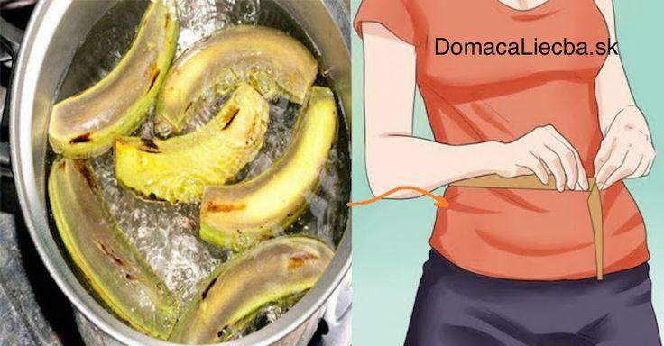 Zrejme aj vy ste doraz po ošúpaní banánov šupku z nich vyhadzovali do koža, čo je však veľká chyba. Zistite, ako ju využiť pre chudnutie.