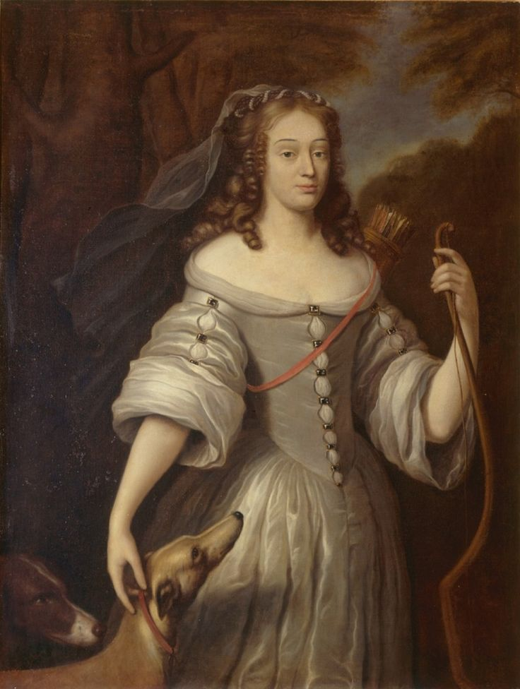 Louise de La Vallière 1644-1710 was mistress to Louis XIV from 1661 to 1667. Initially the king had been infatuated with his brother's wife, Charles the II's beautiful sister Henrietta. But Louise was a beauty in her own right and set in his path to divert his attention and it worked. She had four children by the king but she was not talented at subterfuge or court politics and was supplanted by her supposed friend  Françoise-Athénaïs, marquise de Montespan.