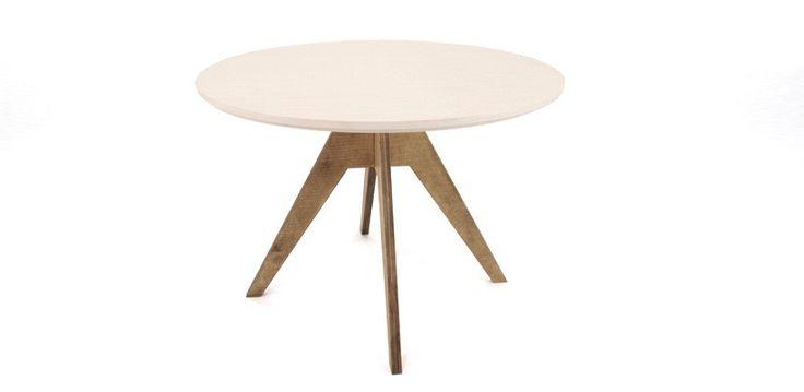 Table De Repas Ronde Design Fjord - D = 105 cm. 549 €