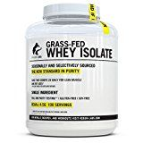 Verum Labs Grass Fed Whey Protein Isolate: Undenatured and Cold-Processed 0g Fat <1g Carbs 5lb Non-GMO Gluten and Soy Free