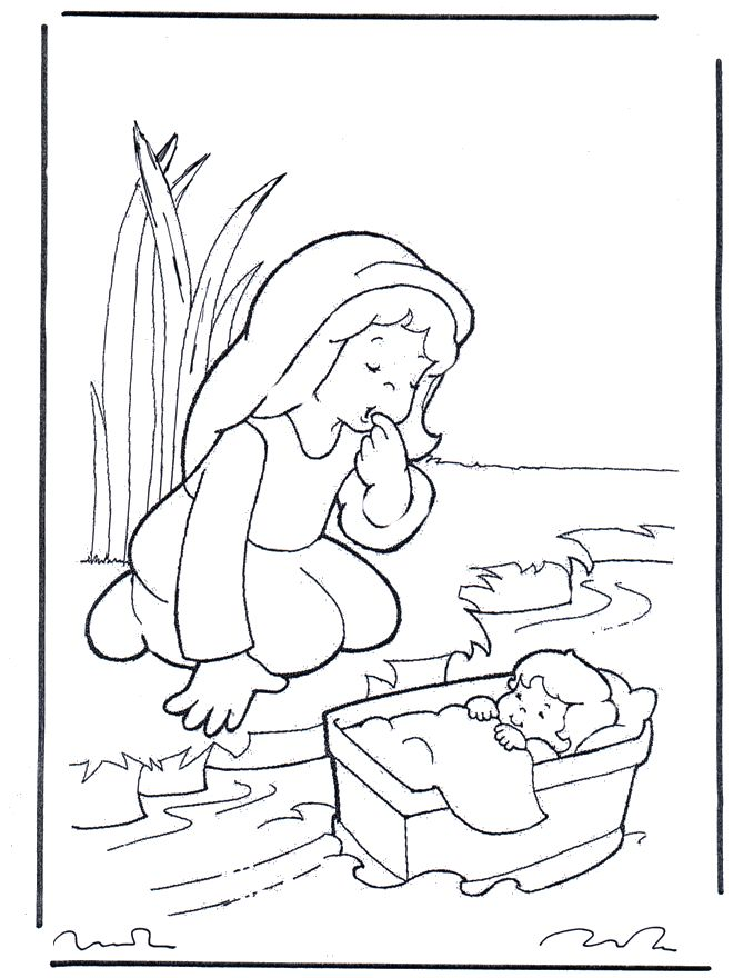 miriam from the bible for kids bible coloring pages old testament moses and - Coloring Pages For 5 Year Olds