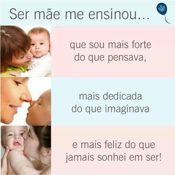 AMO ser Mãe <3
