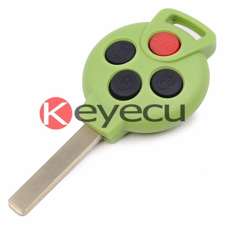 Green color keyless entry remote key fob 315mhz 31 button