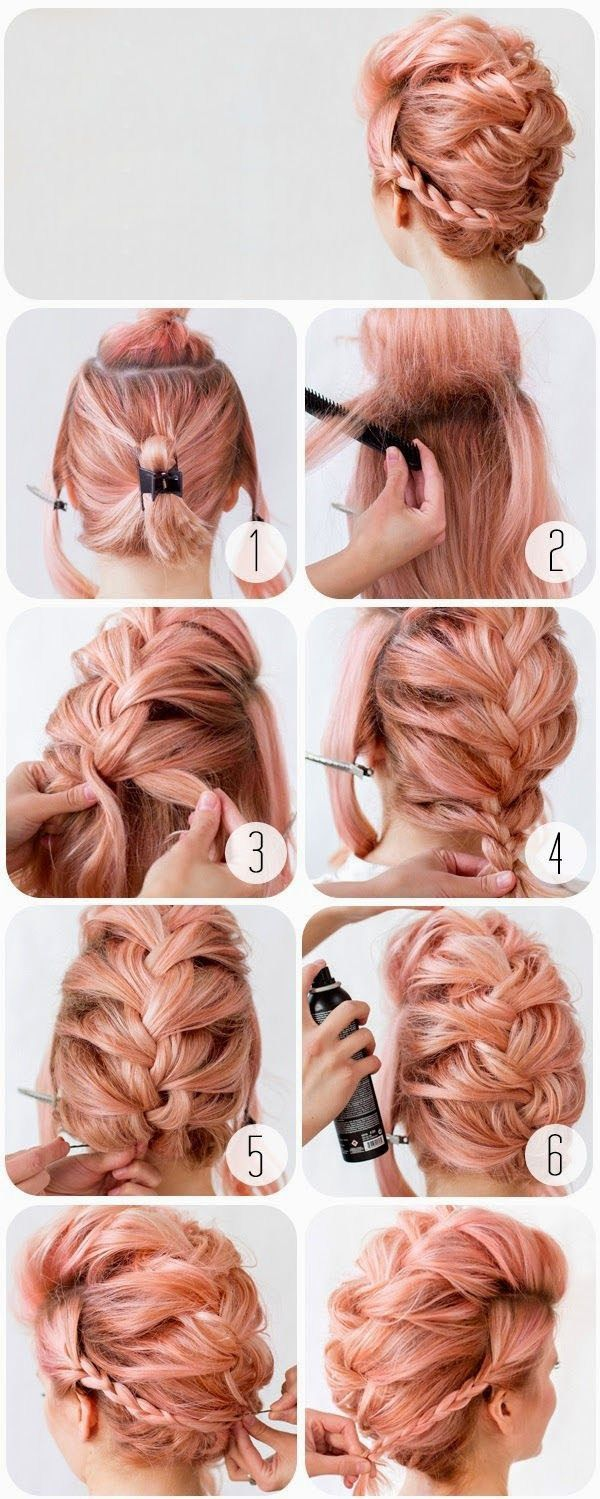 Braided Bouffant-  on Makeup Mania