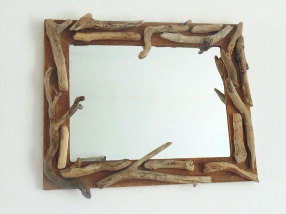 Les 25 meilleures idées de la catégorie Miroir bois flotté sur ...