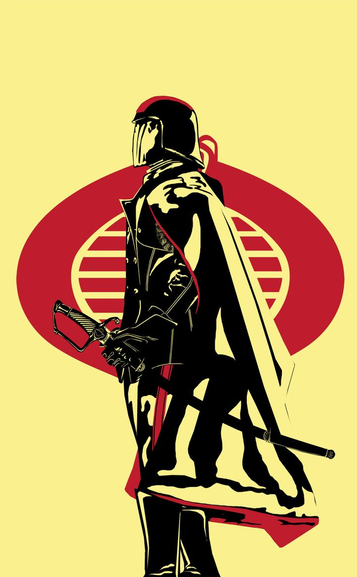 "A variation onGaks Designs' ""The Headless Samurai"" with Cobra Commander where I felt he needed to be."