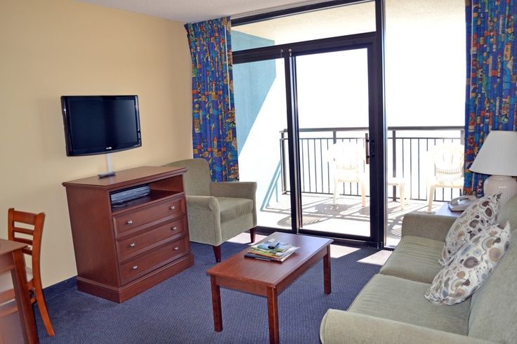 At our Myrtle Beach hotel you can enjoy newly renovated units!