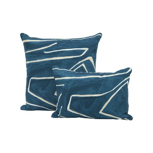 Blue And Teal Pillows Part - 46: Jayson Home Maze Teal Pillows ($275) ? Liked On Polyvore Featuring Home,  Home