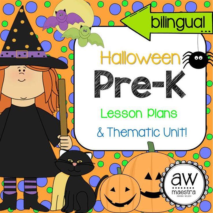 Halloween Lesson Plans & Thematic Unit PreK, English