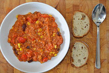 Veganes, basisches Chili (Rezept mit Bild) von Basentante | Chefkoch.de (Vegan Curry Rezept)