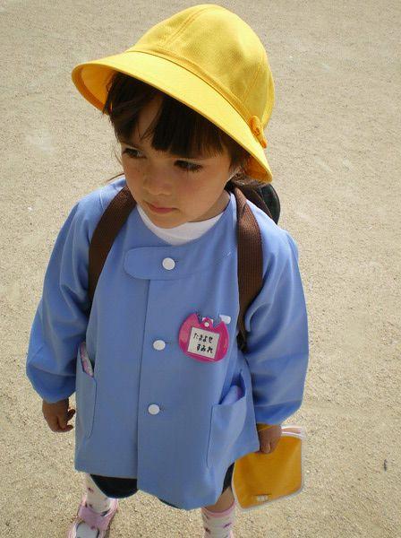 Typical Japanese kindergarten uniform | Tumblr