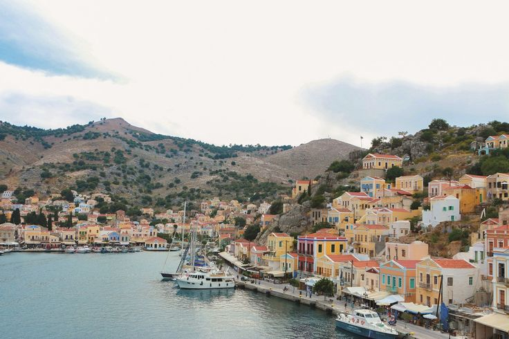 Start dreaming of your summer holidays at the magical island of Symi! #Celestyalcruises #summer #holidays #magical #Symi #island