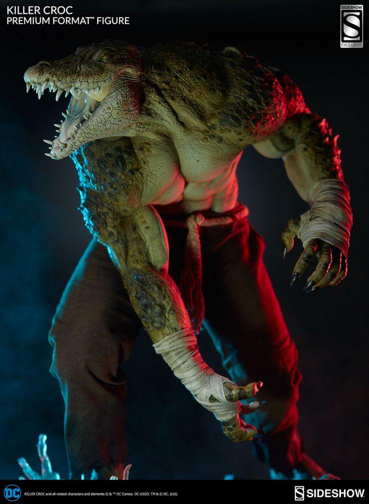 蝙蝠俠忠心的反派!!Sideshow Collectibles【殺手鱷】下水道之王!!Killer Croc 1/4 比例全身雕像 | 玩具人Toy People News