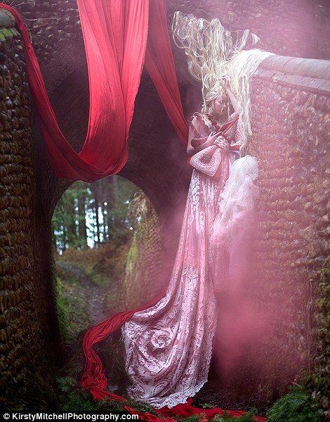 The Briar Rose: a human rambling rose