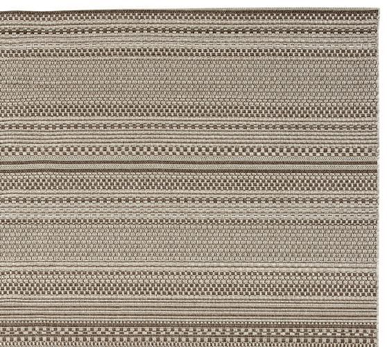 Parker Synthetic Indoor Outdoor Rug Gray Synthetic