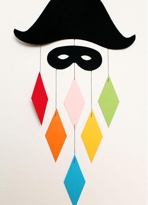 Una alternativa alla solita festa di Carnevale : il laboratorio creativo! Festeggiare in maschera a scuola mischiando cultura ed a...