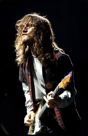 John Frusciante - always in my rock n roll hall of fame.