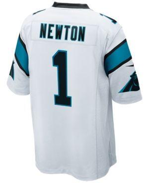 Nike Men's Cam Newton Carolina Panthers Game Jersey - White 3XL