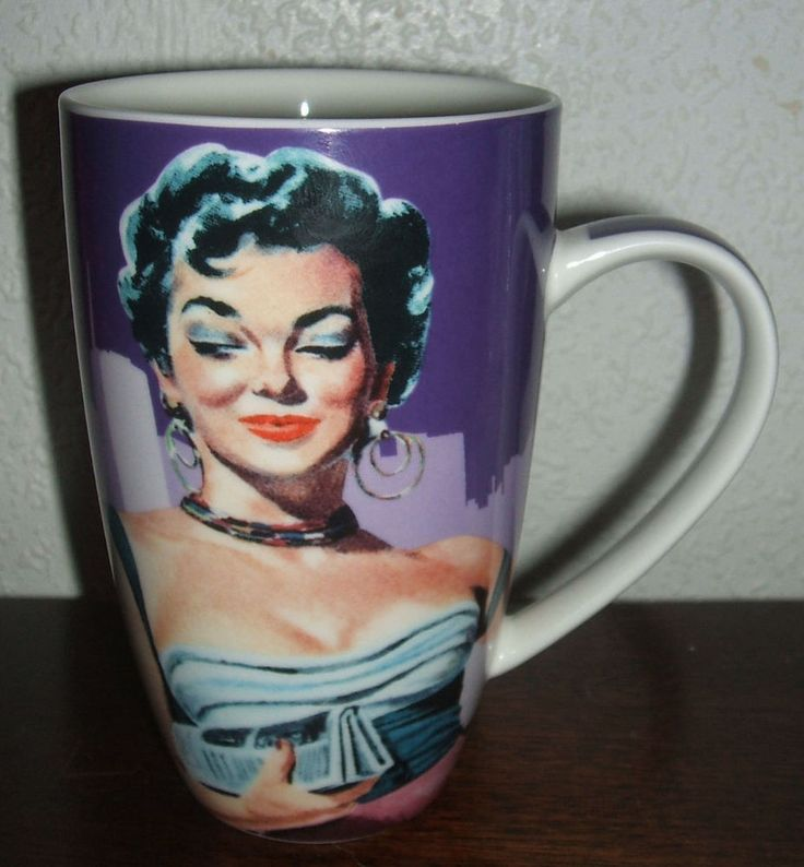Jane Russell 1950s Starlets Porcelain Collector Mug Maxwell & Williams Actresses