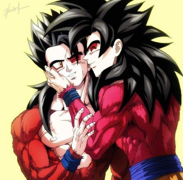 Goku and gohan ssj4 dragon ball pinterest goku and dragon ball - Dragon ball gohan super saiyan 4 ...